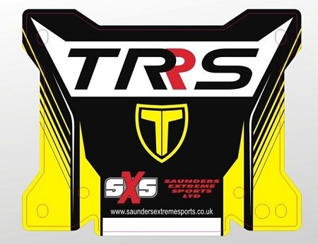 TRS Number board, with decal, these are smaller than most asthe TRS has a different spacin image