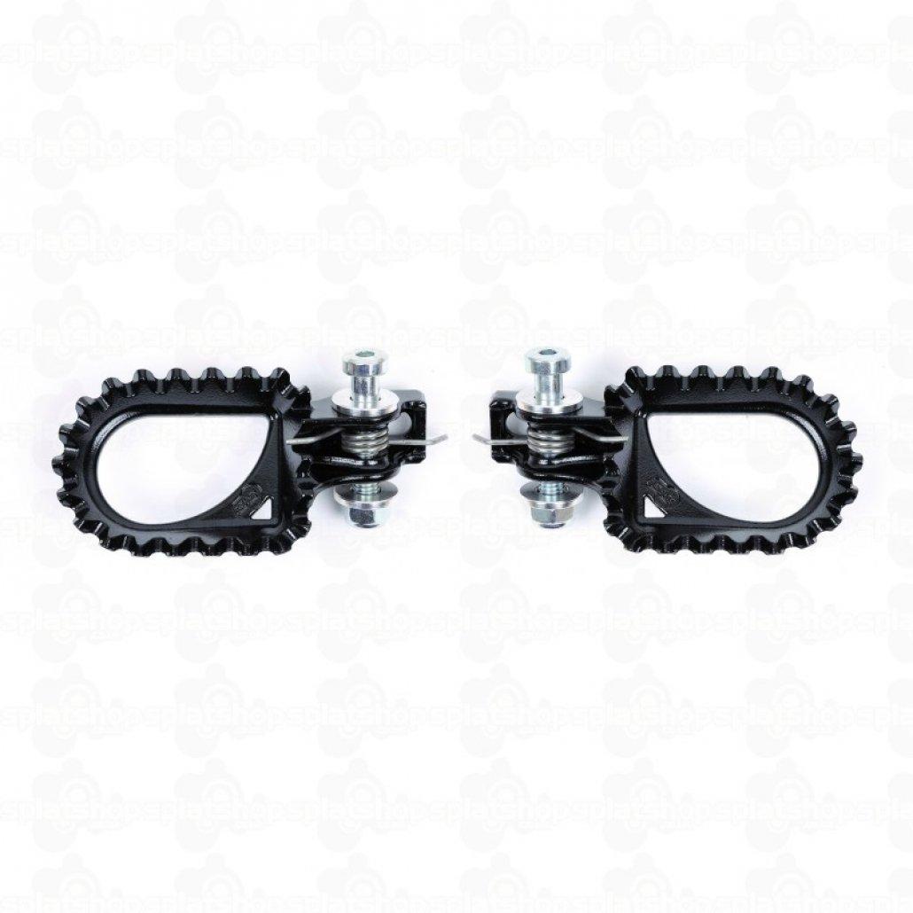 S3 Hardrock steel footrest black image