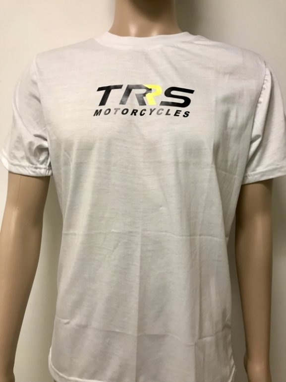 SXS TRS WHITE T SHIRT SMALL image