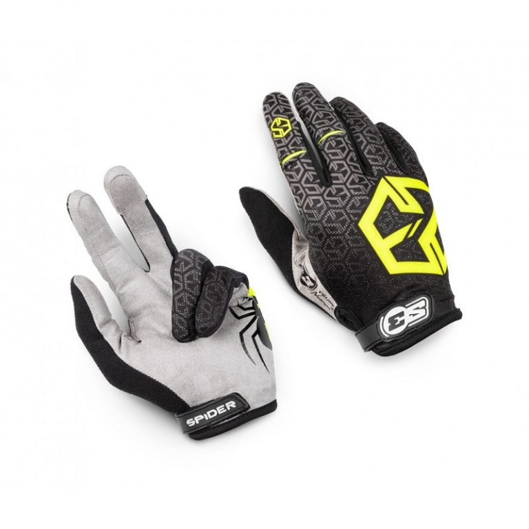 S3 SPIDER GLOVE MEDIUM BLACK image