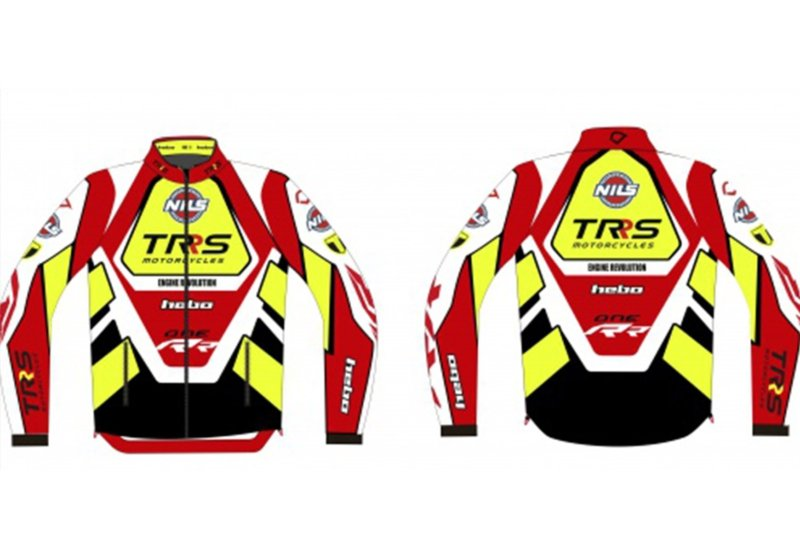 WIND JACKET WITH LONG SLEEVES AND AZIP FRONT, THE REAR DROPSDOWN LOWER FOR ADDED PROTECTIO image