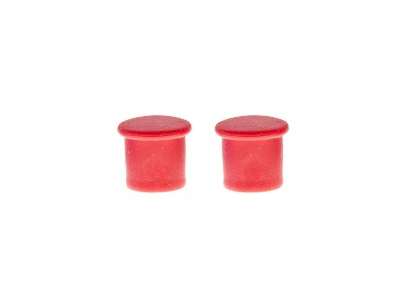 SILICONE VALVE CAPS PUSH ON RED image