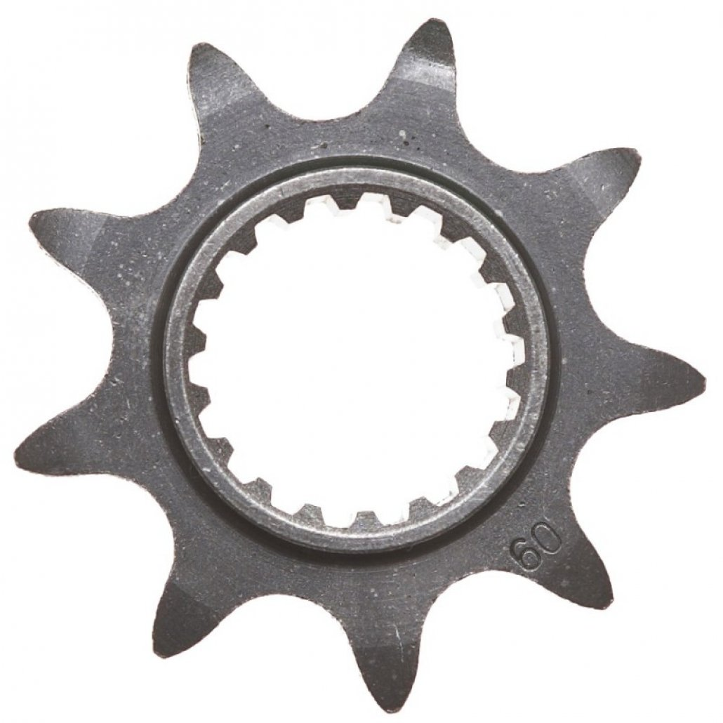 TRS FRONT SPROCKET 9T 2016 to 2020 ONE -   2017 RR ALSO FITS GAS GAS -  PRO image