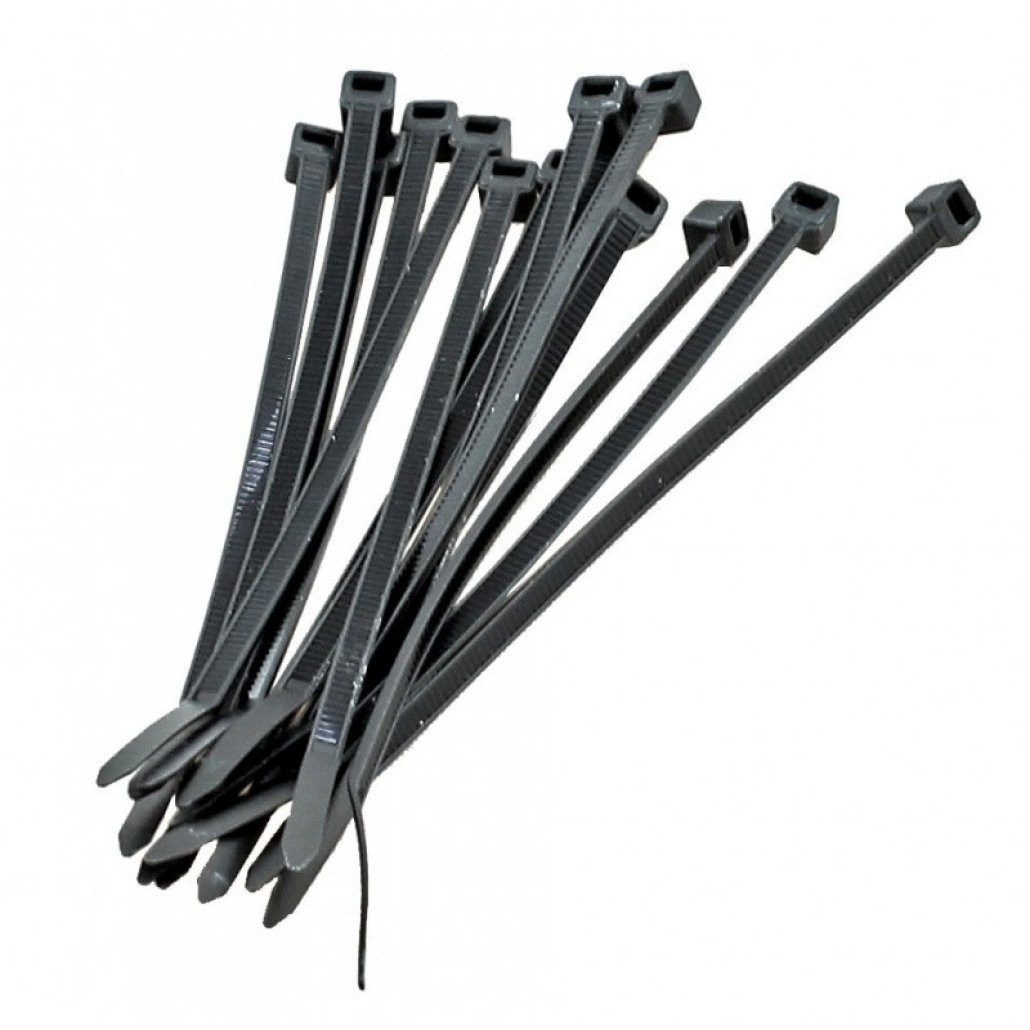 CABLE TIES 200 X 2.6mm BLACK PACK 100 image