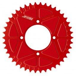 40 T SOLID REAR SPROCKET RED image