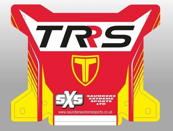 Black background TRS number board image